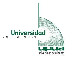 Logo Universidad Permanente de la UA