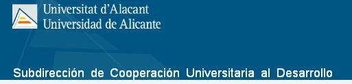 Subdirección de Cooperación Universitaria al Desarrollo