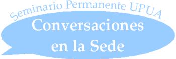 Logotipo Conversaciones en la Sede